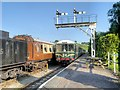 SJ9852 : Churnet Valley Railway, Cheddleton by David Dixon