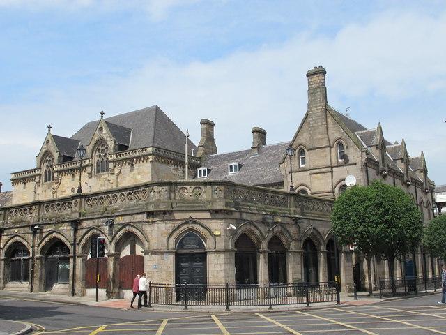 Middlesbrough station buildings, Zetland Road / Exchange Place, TS1