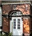SJ9494 : Doorway to Norbury House by Gerald England