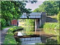 SJ8934 : Railway Bridge over the Trent and Mersey Canal at Stone by David Dixon