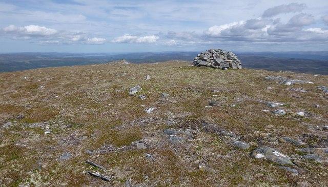 Summit of Carn a' Mhuilt