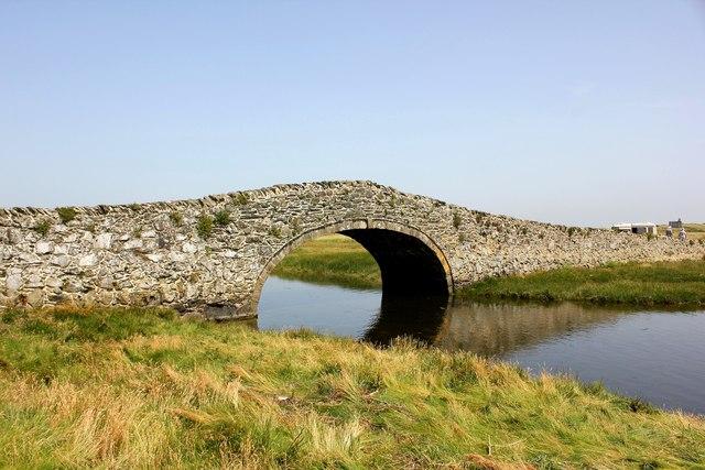 Old Packhorse Bridge, Aberffraw