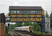 TR1458 : Canterbury West signal box by The Carlisle Kid