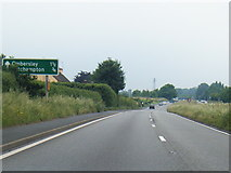 SO8466 : A449 southbound at Sytchampton by Colin Pyle