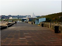 NZ3573 : The Promenade, Whitley Bay, looking towards the south by Bill Henderson