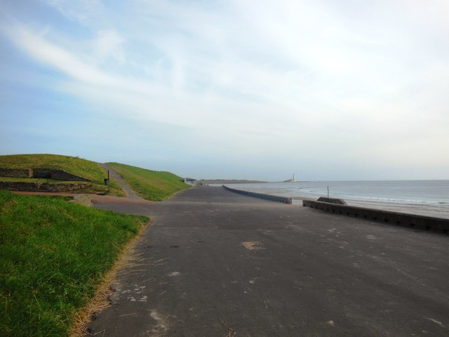 The Promenade, Whitley Bay, looking towards the north