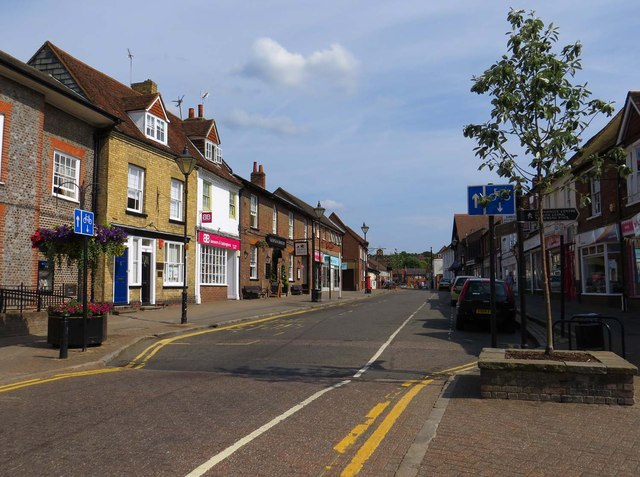 High Street in Princes Risborough