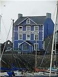 SN4562 : The Harbourmaster hotel Aberaeron by Steve  Fareham