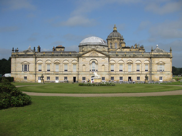 Castle Howard, west elevation