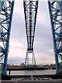 NZ5021 : The Transporter Bridge by Mike Quinn