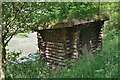 NT2815 : Birdwatching hide, Ettrick Marshes by Jim Barton