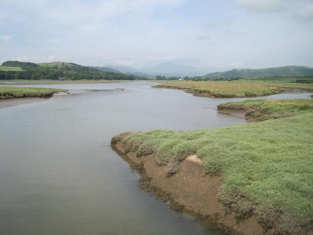 River Esk and salt marsh