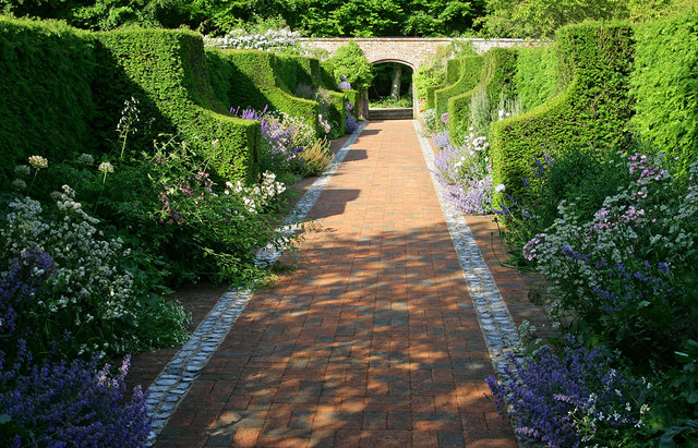 The Wormsley Estate walled garden