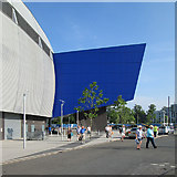 SP0684 : Edgbaston: at the end of the day's play by John Sutton
