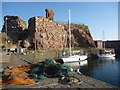 NT6779 : Coastal East Lothian : A New Day At Victoria Harbour, Dunbar by Richard West