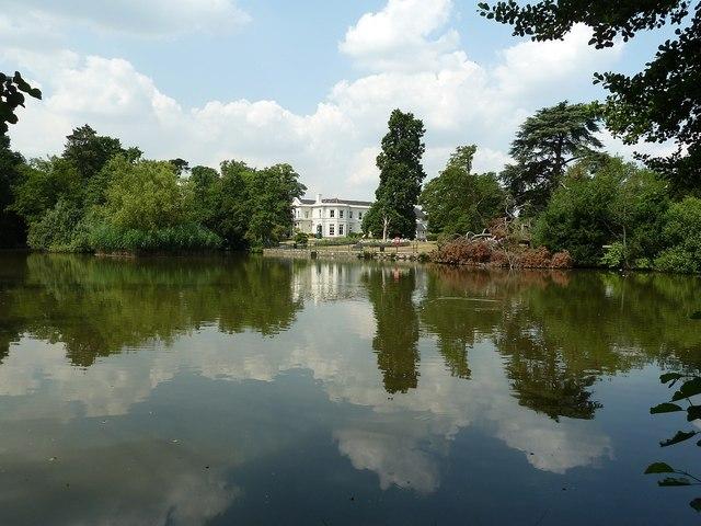 The Oakmere across its park