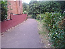 TQ2589 : Path between Gloucester Drive and Brookland Rise by David Howard