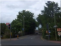 SU3521 : Station Approach, Romsey by David Smith