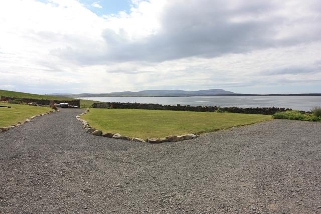 Westward view from Hoxa Tearooms