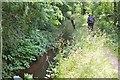 NT1070 : Canal feeder lade near Clifton Hall by Jim Barton
