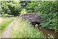 NT1070 : Small bridge over canal feeder lade by Jim Barton