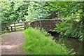 NT1069 : Bridge over canal feeder lade near Clifton by Jim Barton