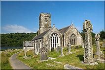 SX1156 : St Winnow's church, St Winnow (2) by Mike Searle