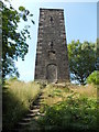 SK2563 : The Reform Tower - eastern edge of Stanton Moor by Neil Theasby