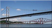 NT1279 : Forth Bridges by Anne Burgess