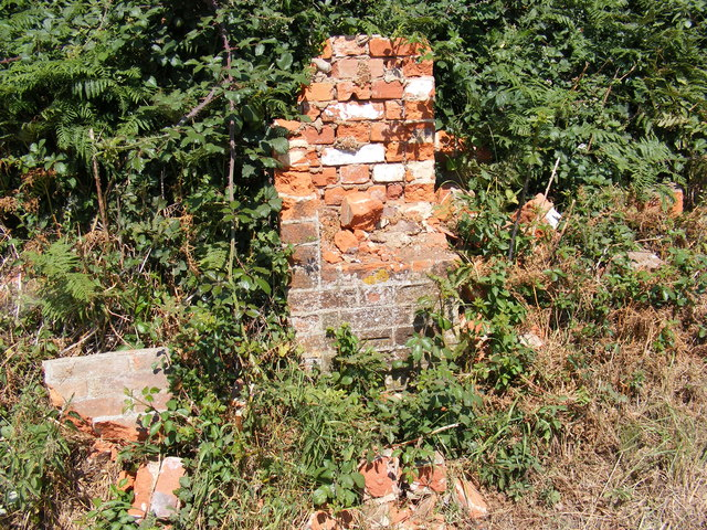 The remains of the Church Corner George VI Postbox