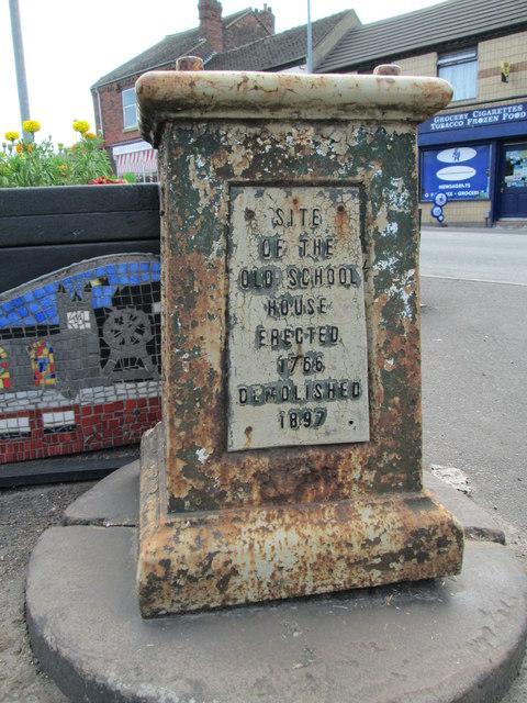 Memorial at end of Sneyd Street, Cobridge