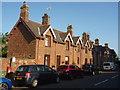 NT6977 : Rural East Lothian : Terrace of Houses at Broxburn, near Dunbar by Richard West
