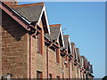 NT6977 : East Lothian Architecture : Dormers At Broxburn by Richard West