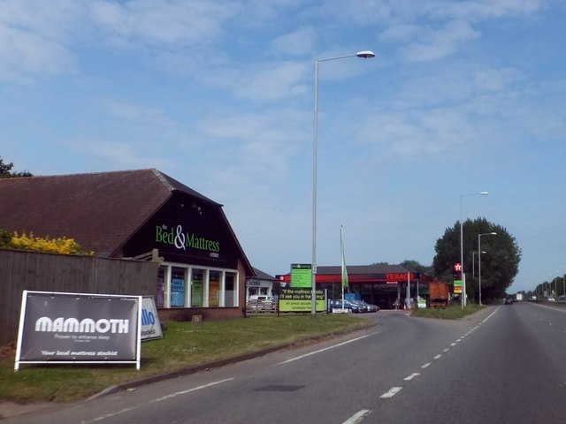 Texaco filling station, Chichester by-pass