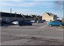 ST8893 : A Tetbury car park by Jaggery