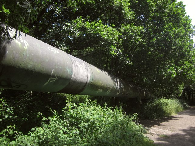 Pipe by the River Avon Trail