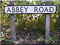 TM3186 : Abbey Road sign by Adrian Cable