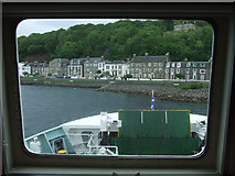 NS0964 : Rothesay from the ferry by Thomas Nugent