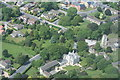 SE3051 : Pannal village centre from the air by Mark Morton