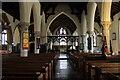 TF4576 : Interior, St Wilfred's church, Alford by J.Hannan-Briggs