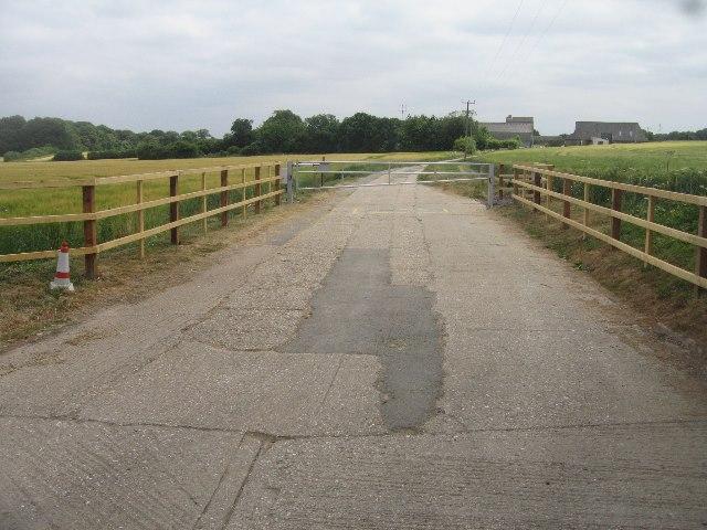 New barriers - Breach Farm by Sandy B