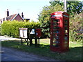 TM3183 : Telephone Box & St.Margarets Postbox by Adrian Cable