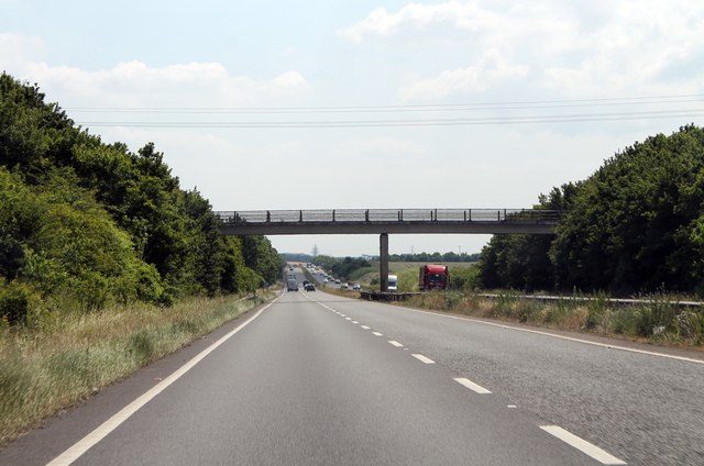 A11 southbound