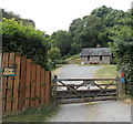SO1141 : River Cabin, Trericket Mill Guesthouse near Erwood by Jaggery