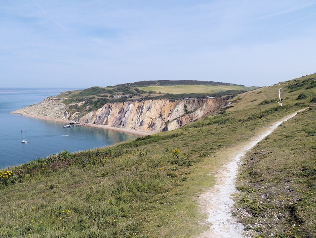 Cliff Path to Alum Bay