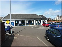 NO3800 : Leven Lidl store on School Lane by Richard Law