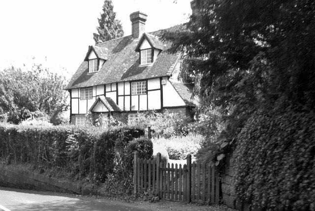 Timber framed cottage, Speldhurst