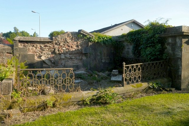 Mausoleum of the Dennistoun Browns of Balloch Castle