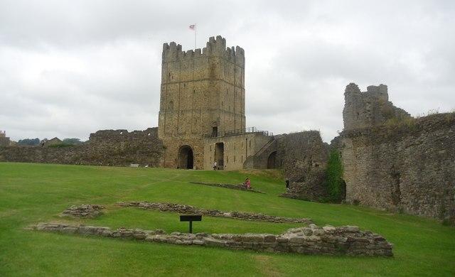 Richmond castle.