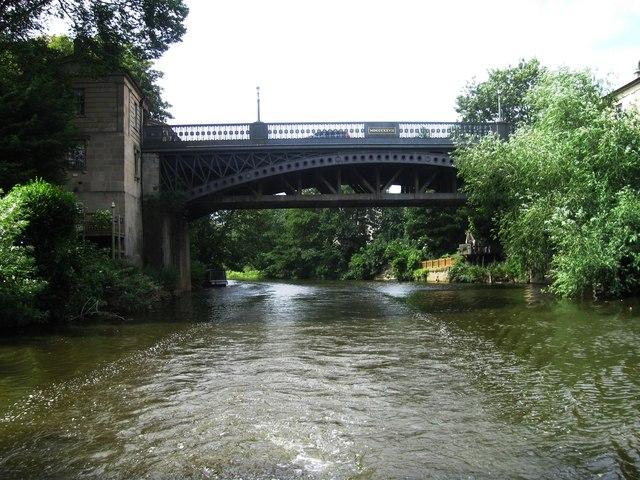 A36 crosses River Avon